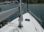 Бак (носовая палуба) яхты Bavaria 41